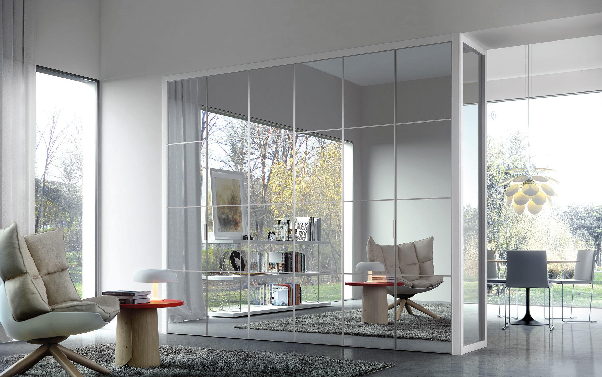 Armarios con frente de cristal espejo - Espejos de bano con armario ...
