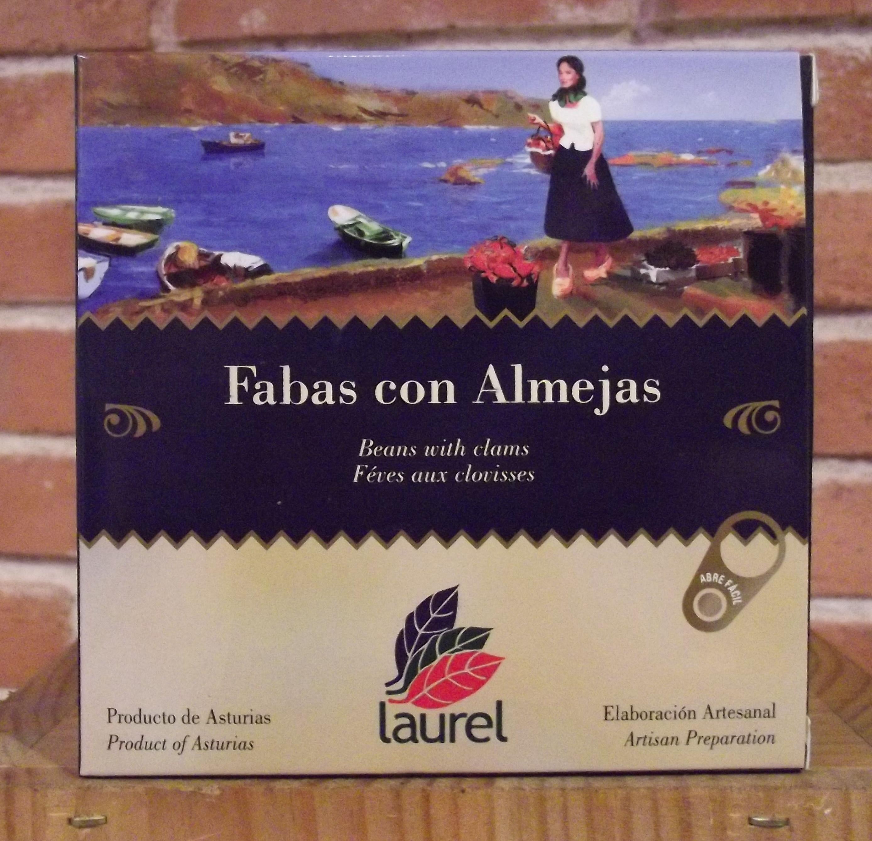 Fabas con almejas: Catálogo de López Pascual