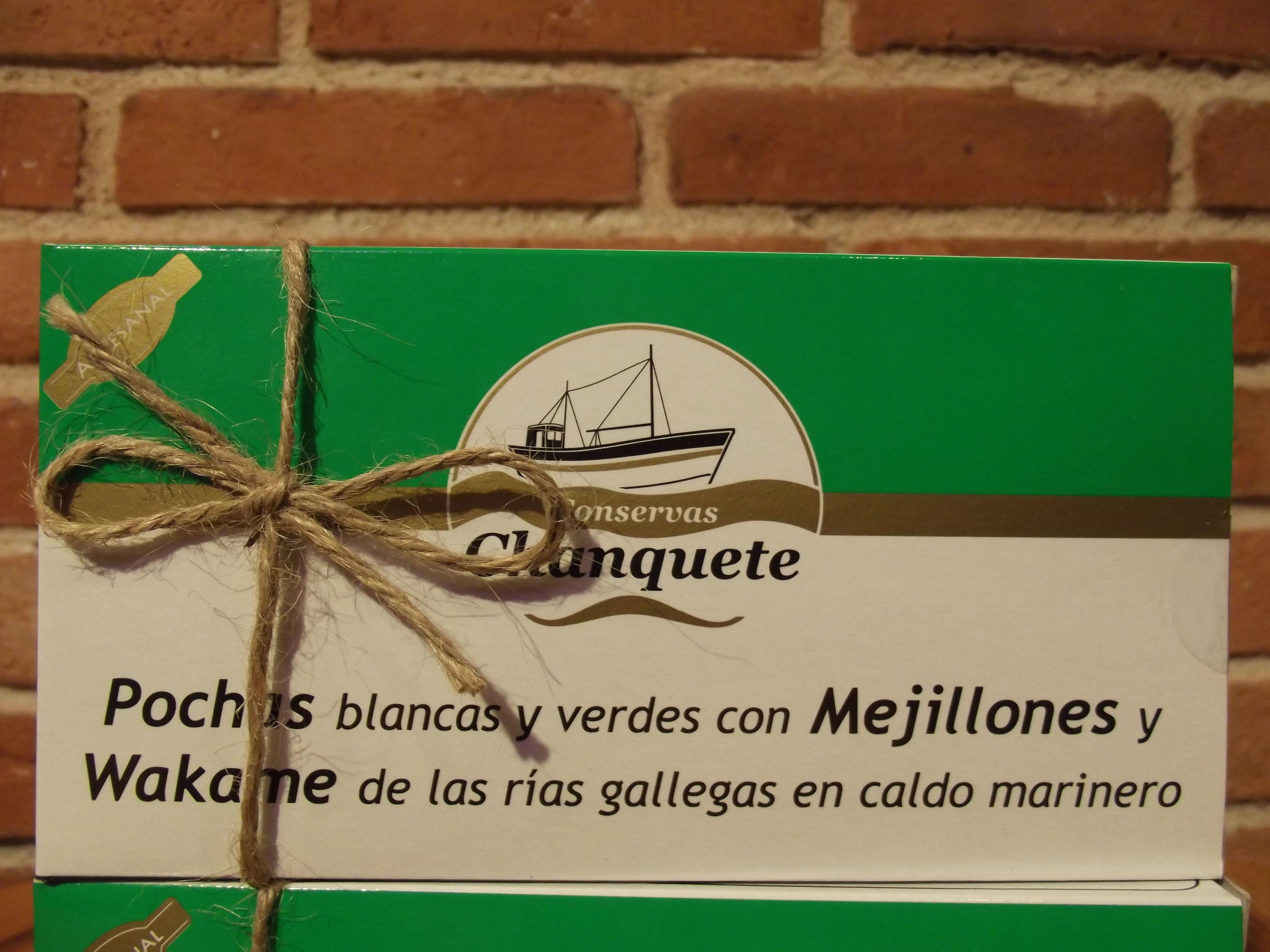 Pochas blancas y verdes con mejillones y wakame: Catálogo de López Pascual