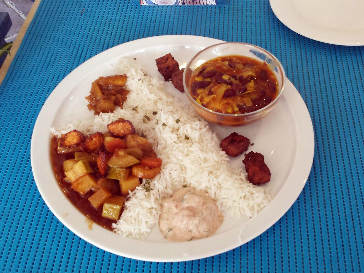 Cocina vegetariana en Los Caños de Meca