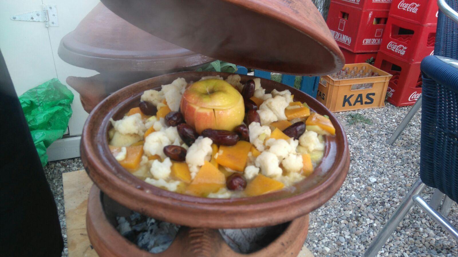 Comida vegana casera en Los Caños de Meca