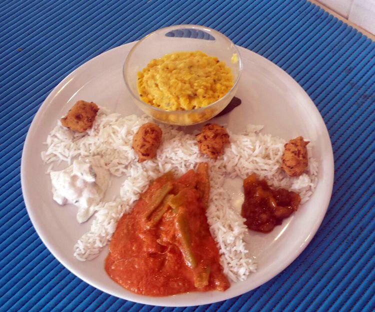 Comida vegetariana en Barbate