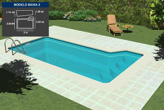 PISCINA BAHÍA 2 (5 X 3 mtrs.): Productos y Servicios de Tecno Clima