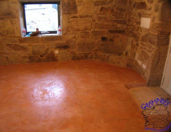 Instalación de pavimento para suelos de viviendas