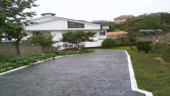 Pavimento de hormigón impreso en Pontevedra