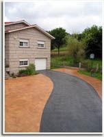 Pavimento impreso en Galicia