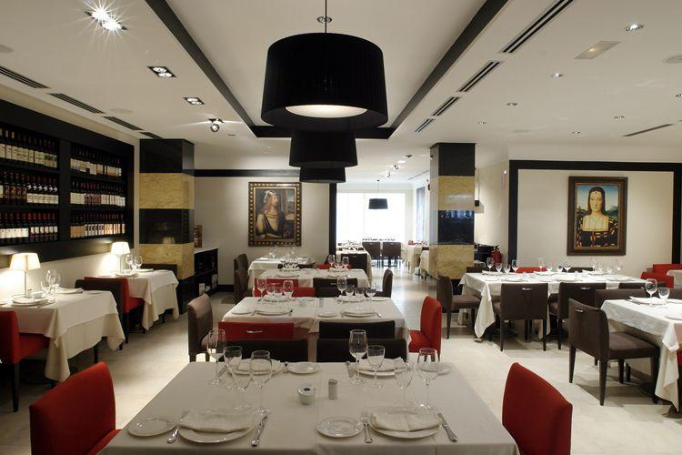 Restaurante Reyes Católicos situado en el centro de Ávila