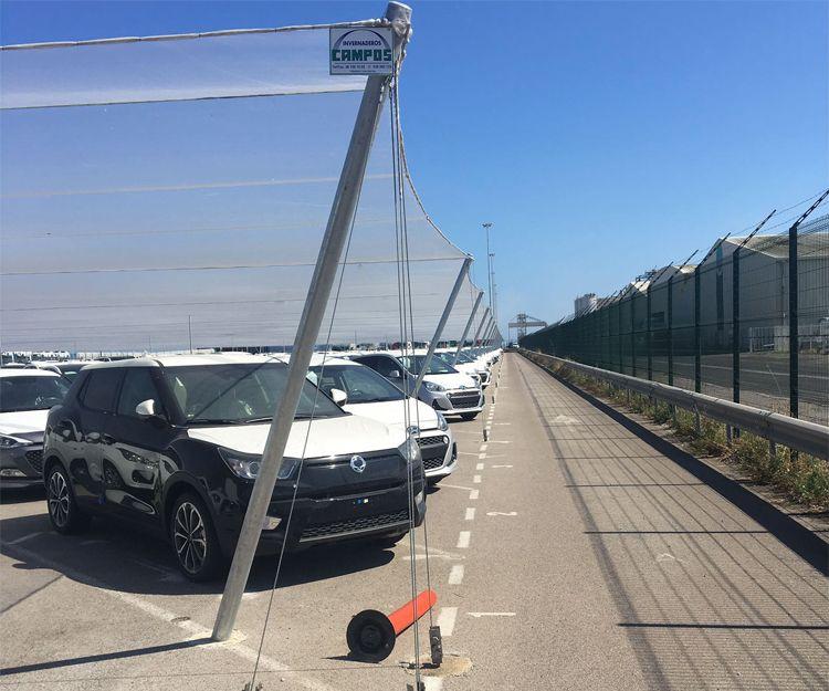 Instalación de cubiertas para parking en Valencia