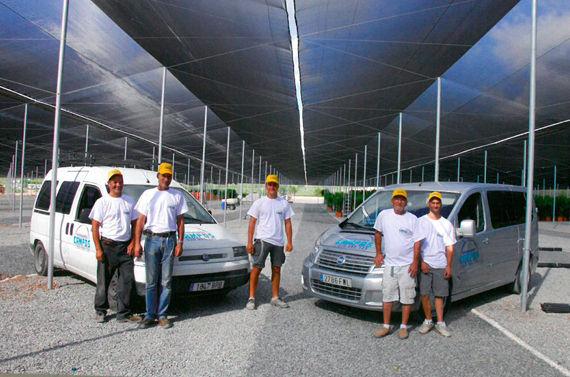 Construcción de Invernaderos Campos - Plantilla de profesionales