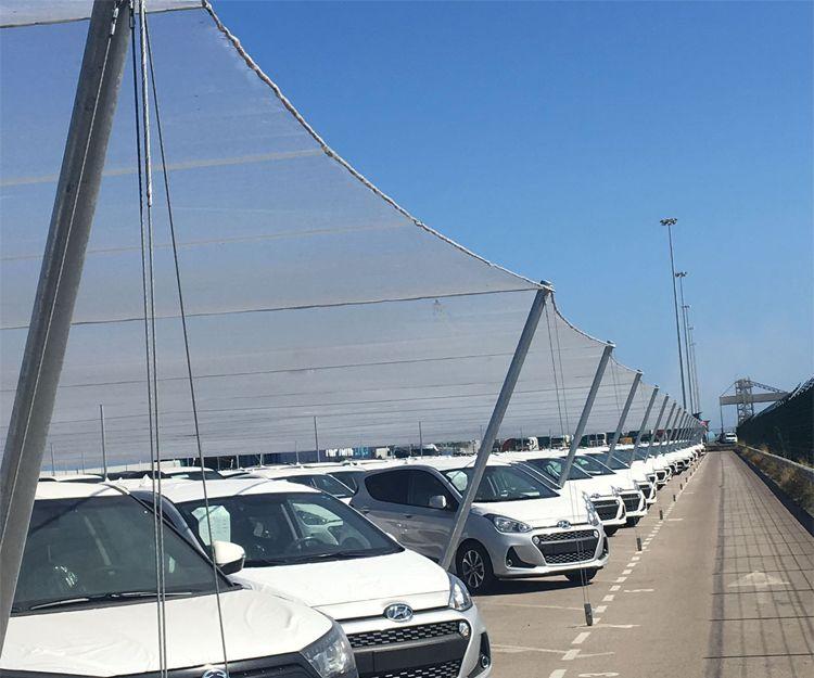 Cubiertas para parking en Valencia