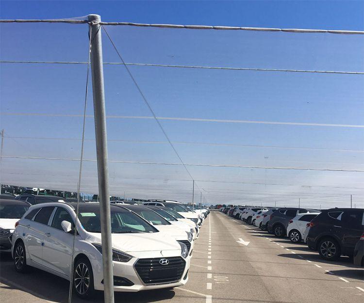 Empresa de cubiertas para parking en Valencia