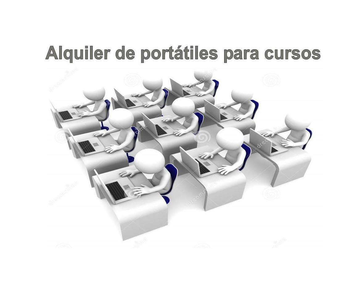 Alquiler de portátiles para cursos