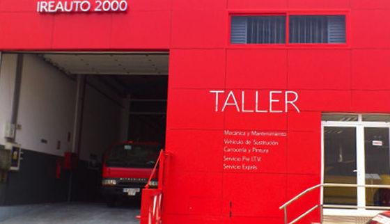 Taller de vehículos industriales: Servicios  de Ireauto 2000 S.L