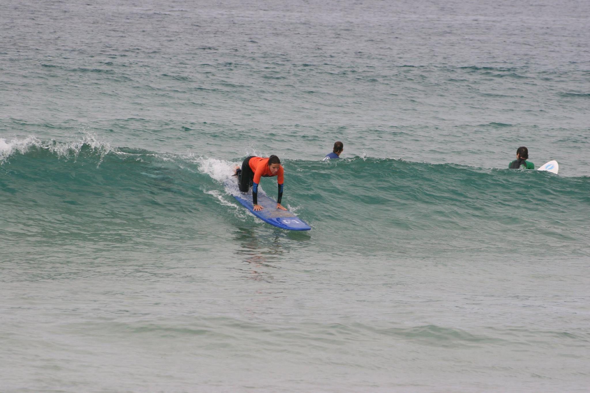 Experts in surf courses in El Cotillo
