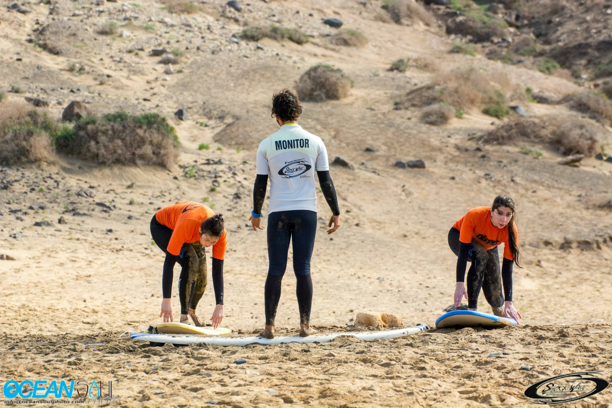 Monitors qualified by the Canarian Surfing Federation
