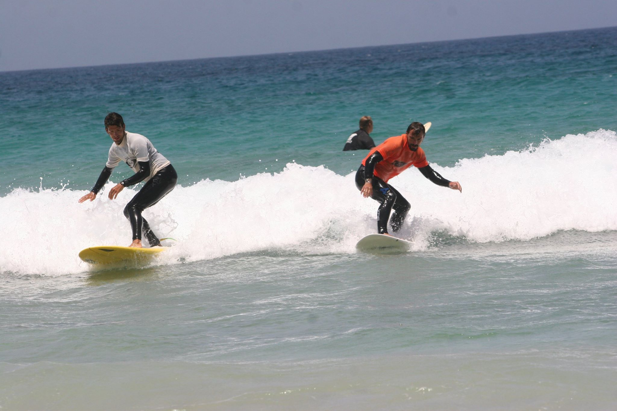 Rental of surf equipment in El Cotillo