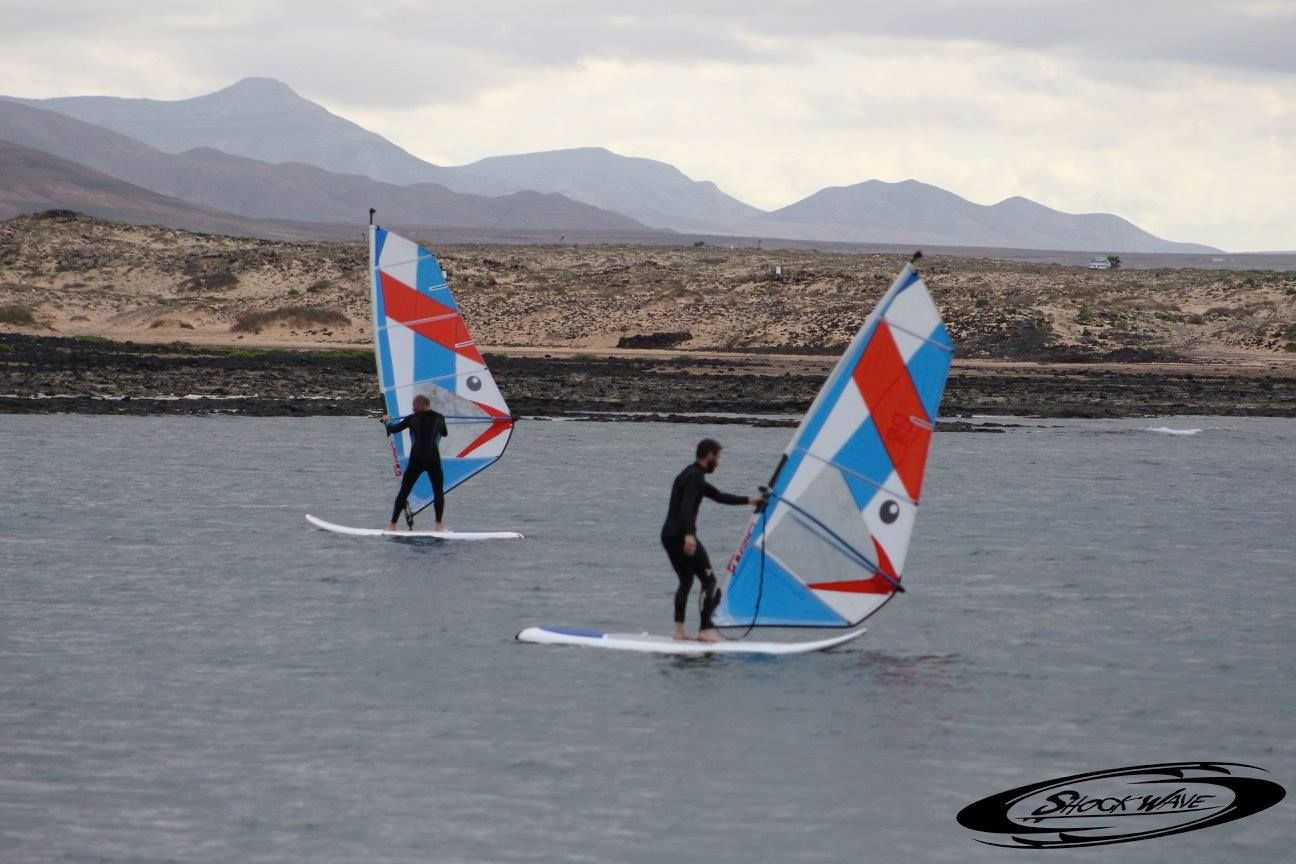 Windsurfing course for all levels in Fuerteventura
