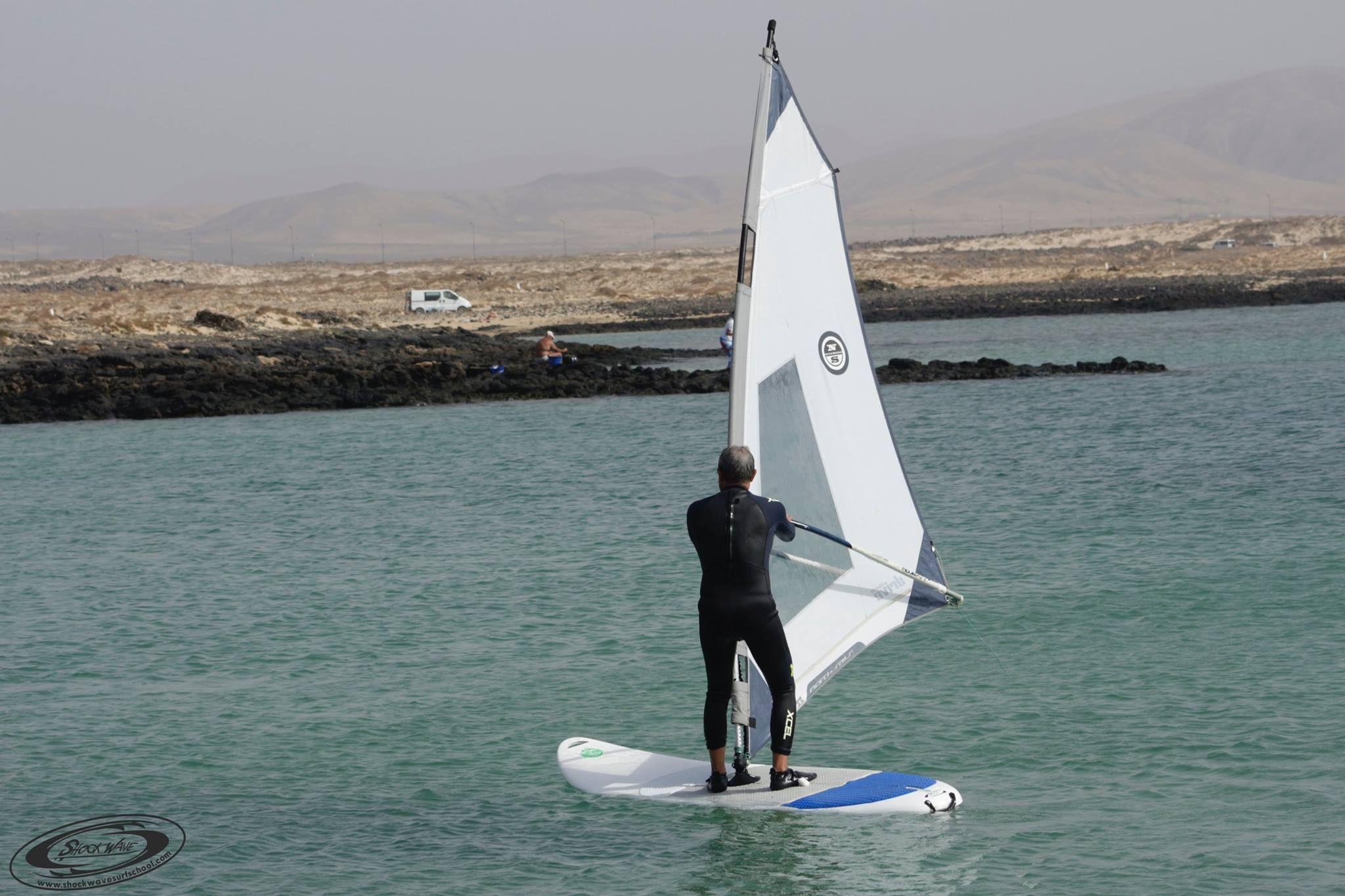 Windsurf school in El Cotillo