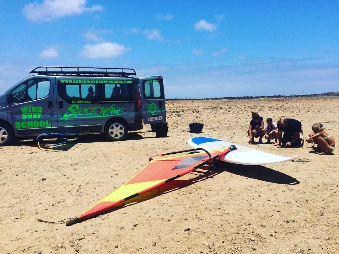 Surfboard rental in El Cotillo