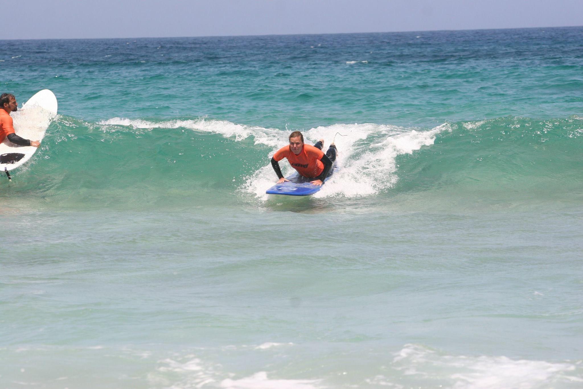 Surf lessons in El Cotillo