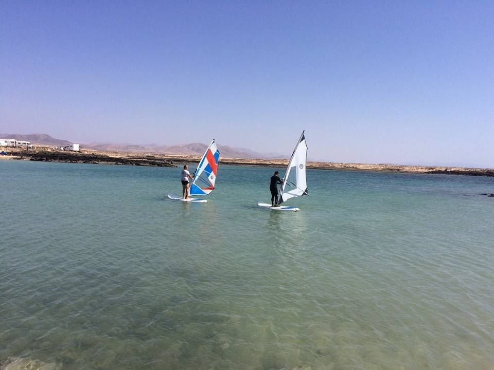 Windsurfing courses for all levels in Fuerteventura