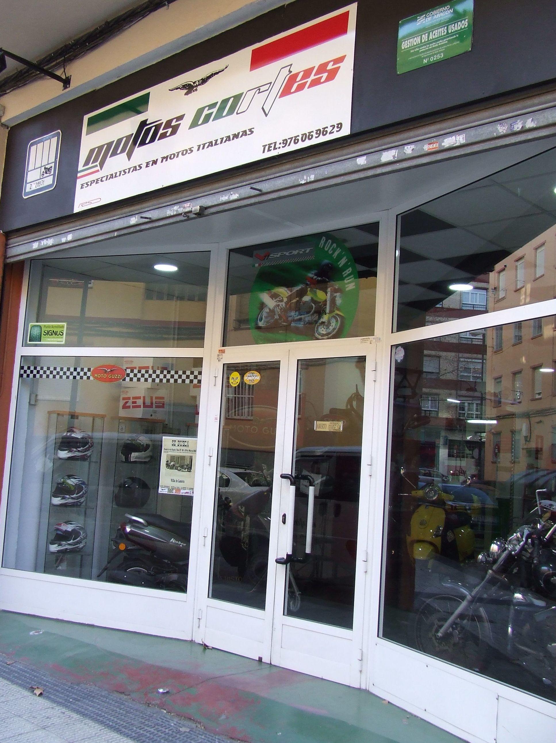 Tienda de motos en Zaragoza