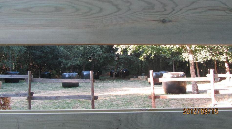 Campo de paintball en Lugo