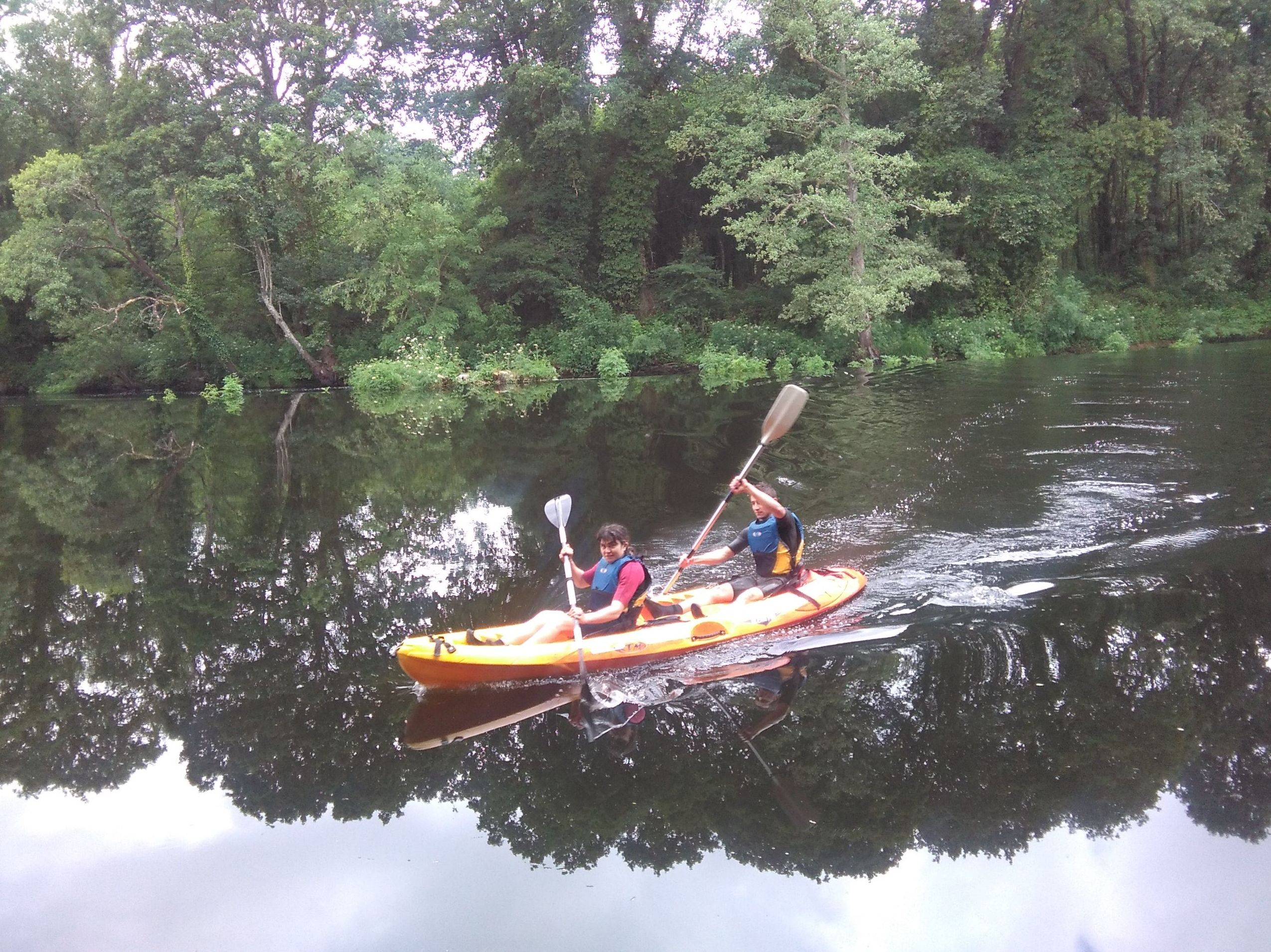 Kayaks en Lugo