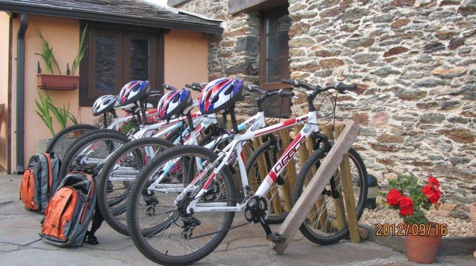 Rutas en bici de montaña en el entorno del nacimiento de Miño
