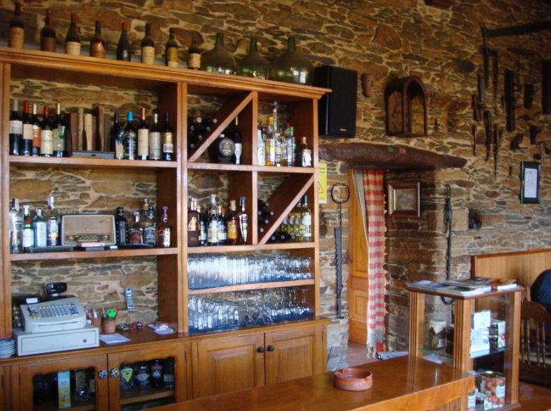 Taberna O´Cruceiro en Pastoriza (Lugo), lugar de descanso después de realizar una de nuestras actividades