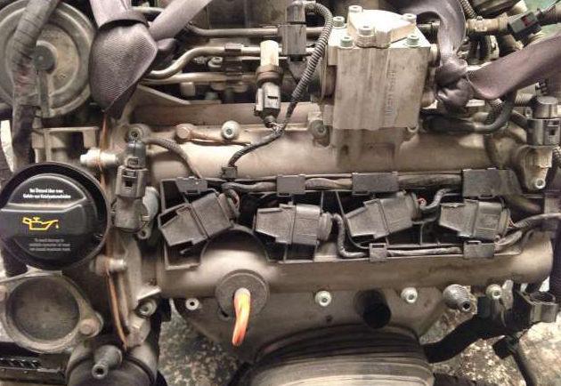 Motor completo de un Golf
