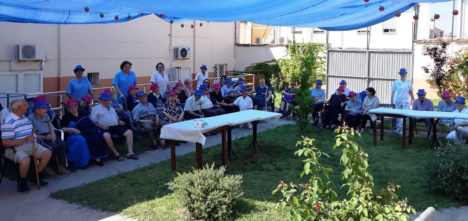 Celebraciones para ancianos en Cáceres
