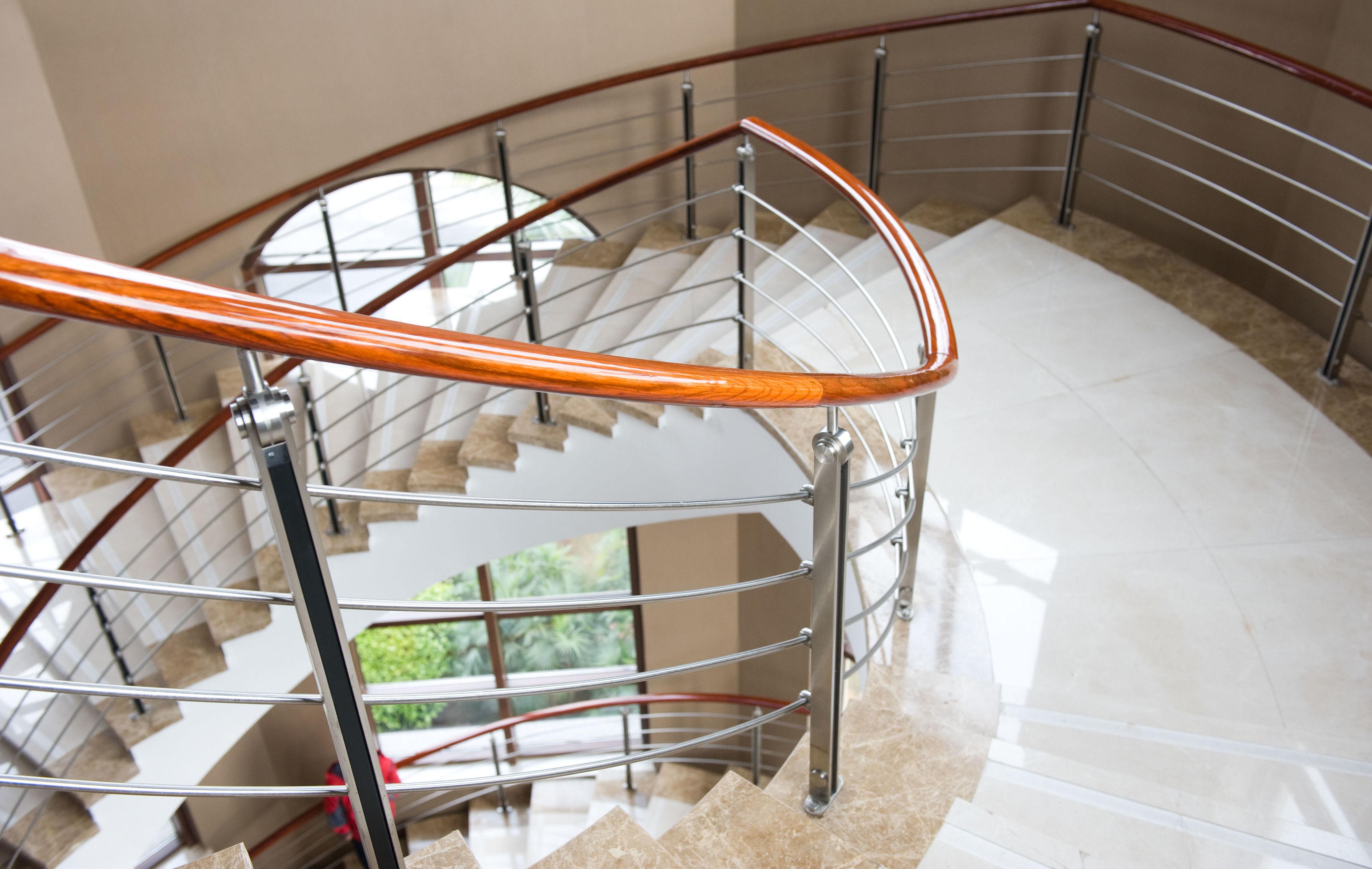 Escaleras de mármol en Navarra