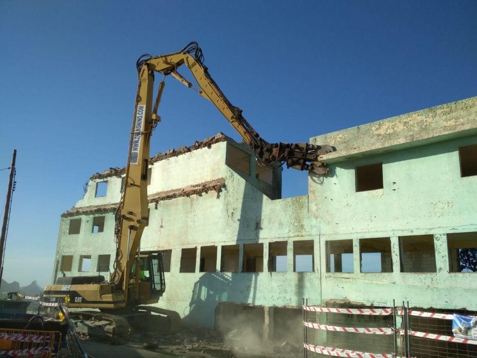 Demoliciones de edificios en Tenerife