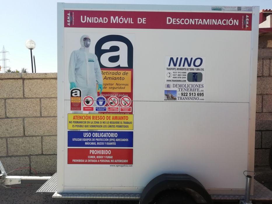 Demolición de amianto en Tenerife