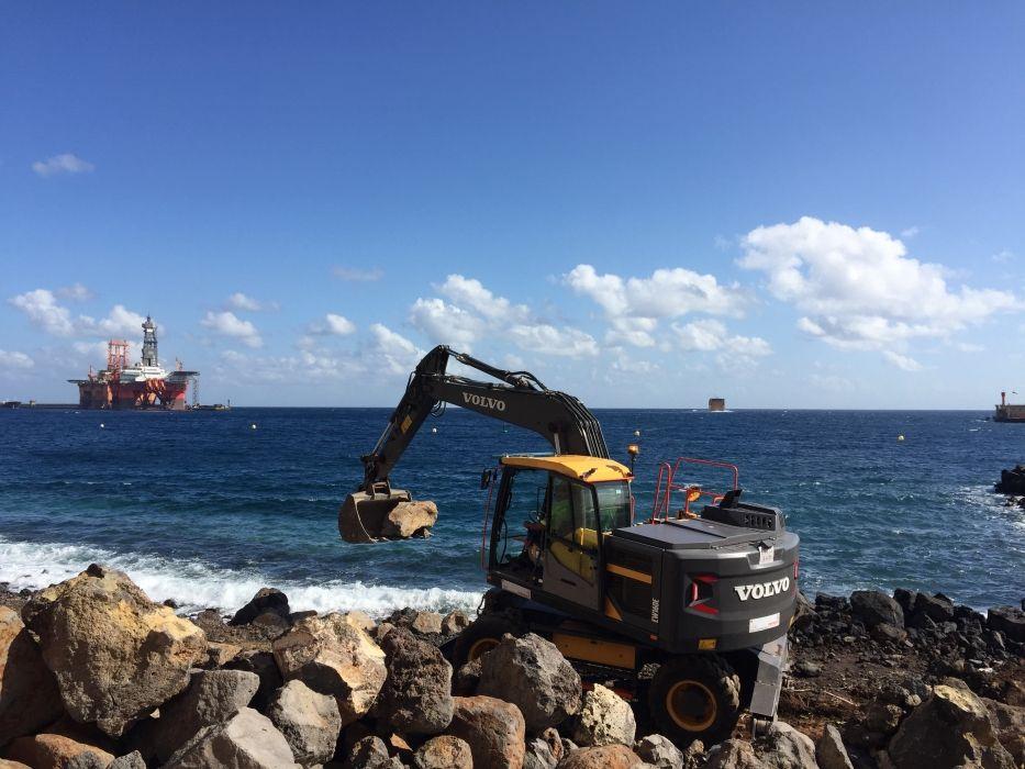 proyectos de movimiento de tierra en Tenerife