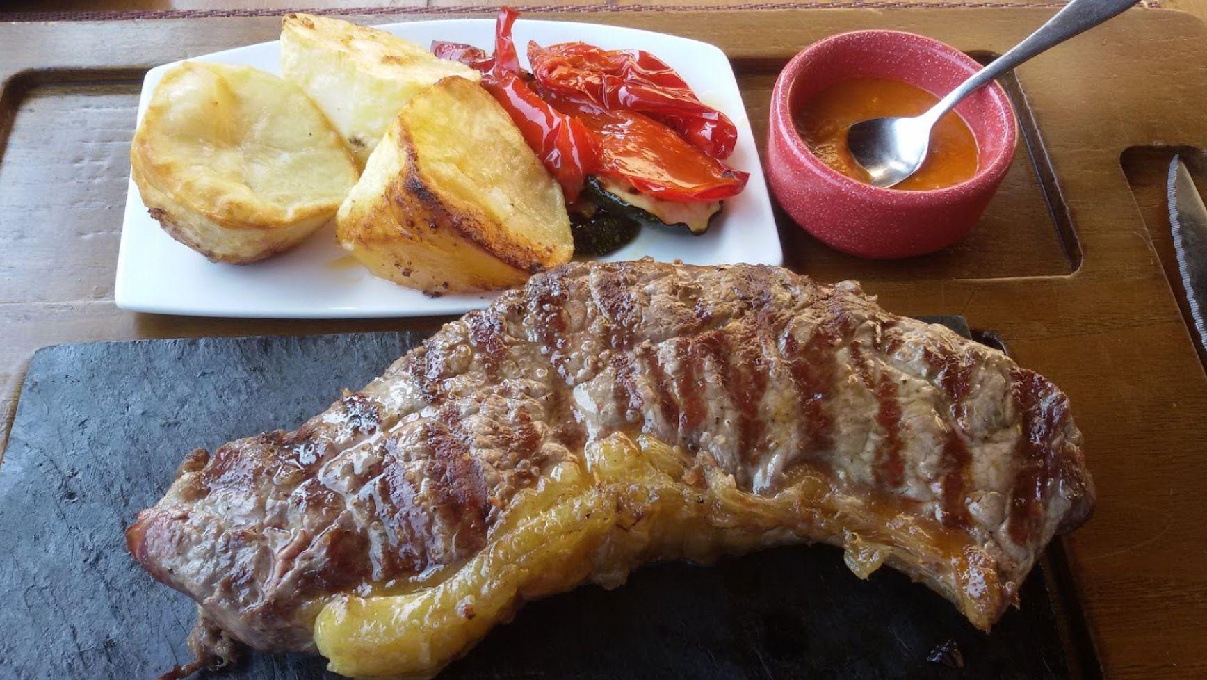 Las mejores carnes gallegas, en Restaurante Portovello