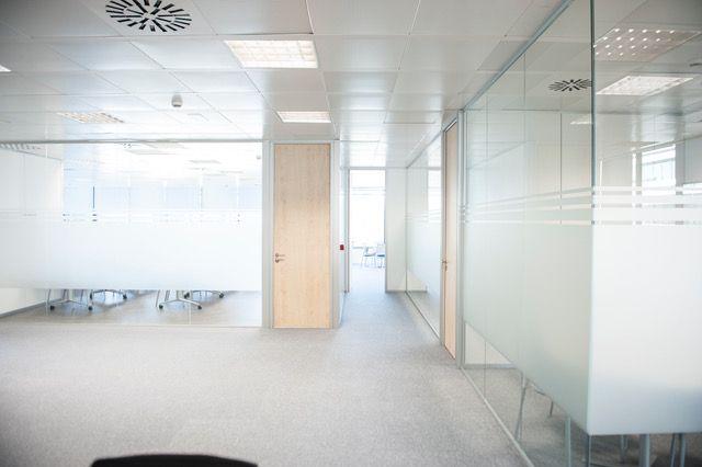Mamparas de oficina Madrid Norte
