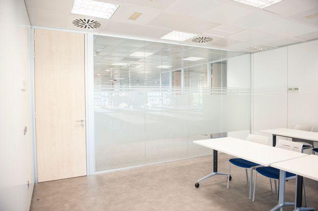 Expertos en mamparas oficina Madrid Norte
