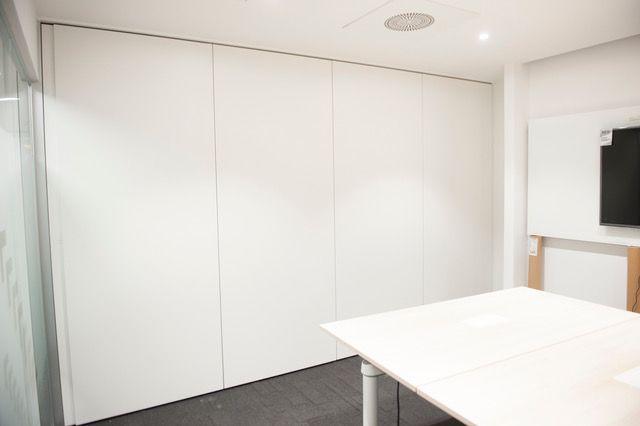 Mamparas de oficina Madrid Centro