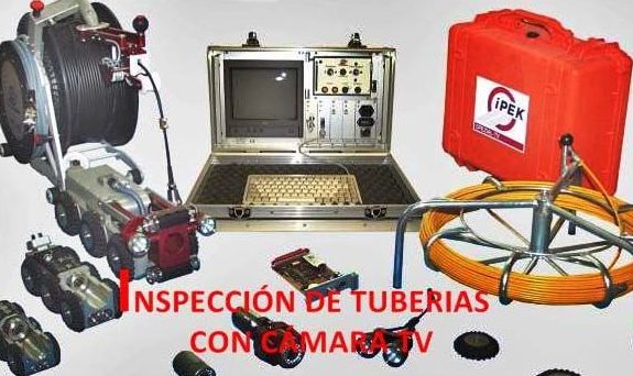 impeccion y grabacion de tuberias en las palmas www.desatascosjj.com