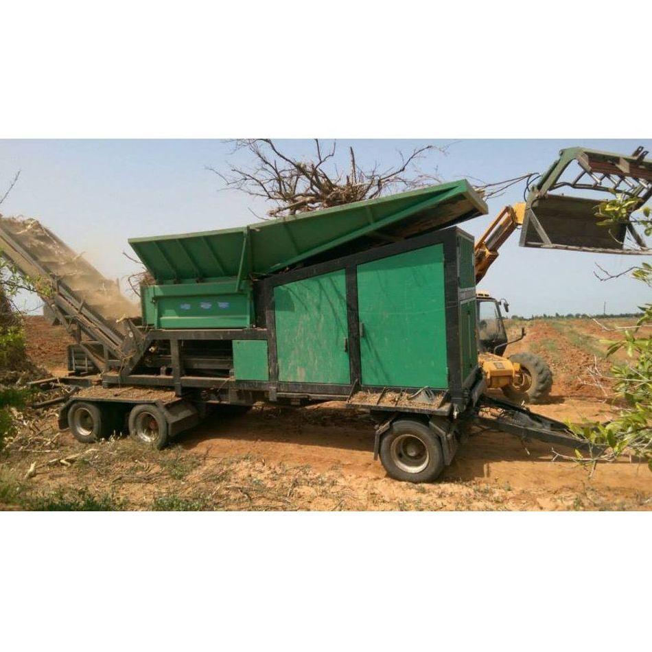 Trituración de poda forestal: Servicios de Ecopoda