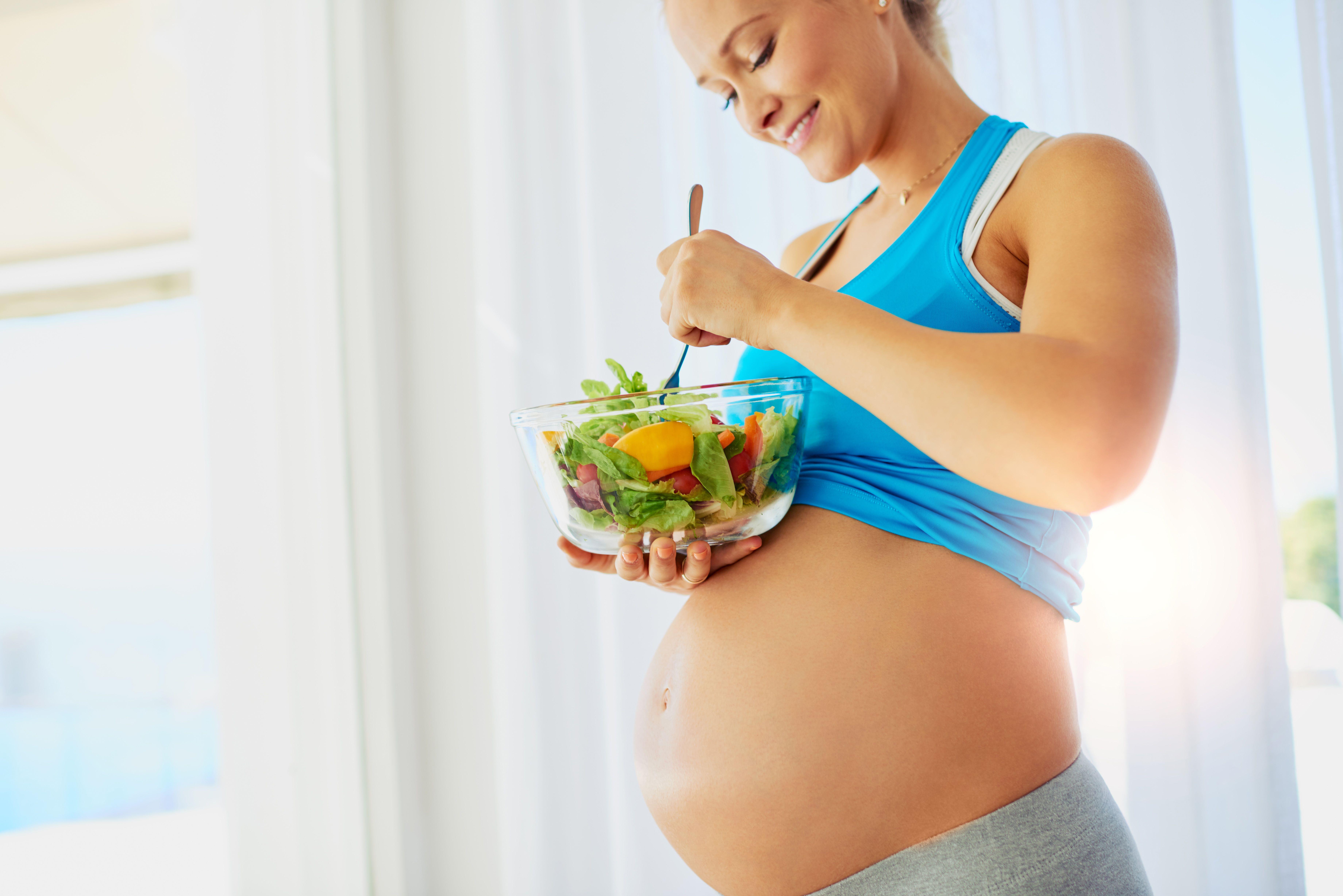 Dietas adaptadas para mujeres embarazadas