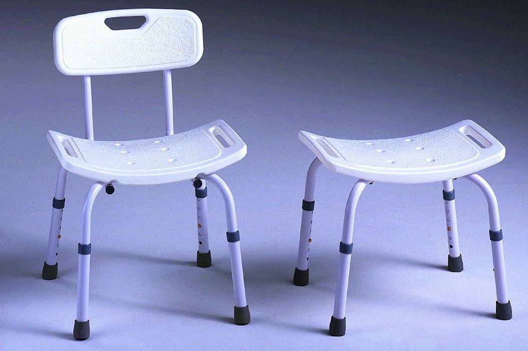 silla y taburete de ducha