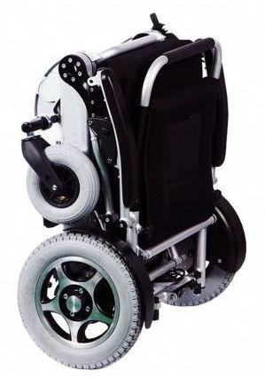 silla de ruedas eléctrica plegable Boreal