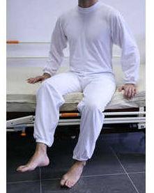Pijama de sujeción largo
