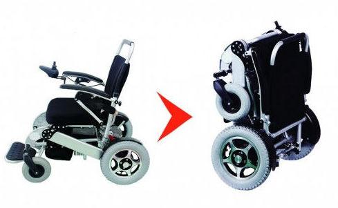 silla de ruedas eléctrica Boreal