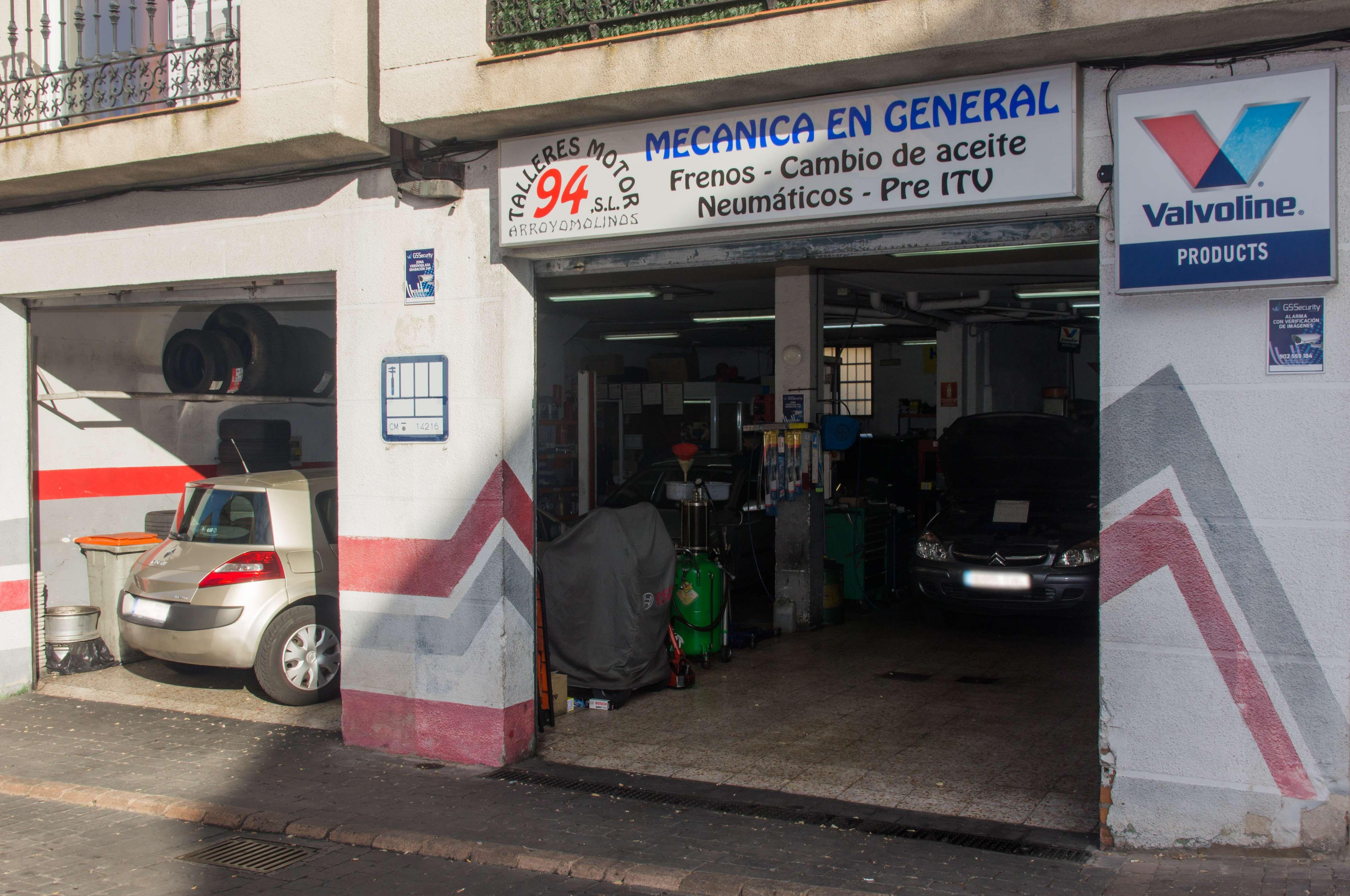 Taller mecánico en Arroyomolinos, Madrid