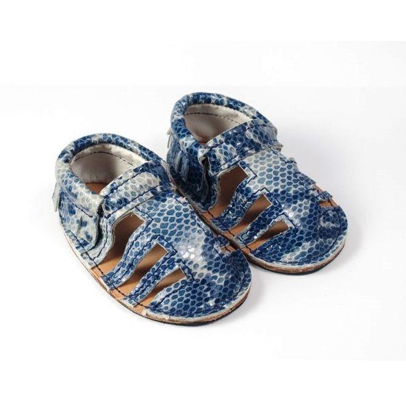 Sandalias azul: Tienda online of Artesanía Martín