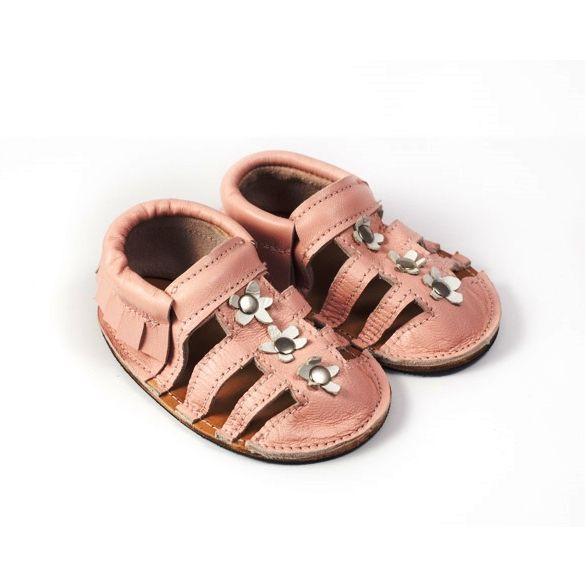 Sandalias para niñas color rosa: Tienda online de Artesanía Martín